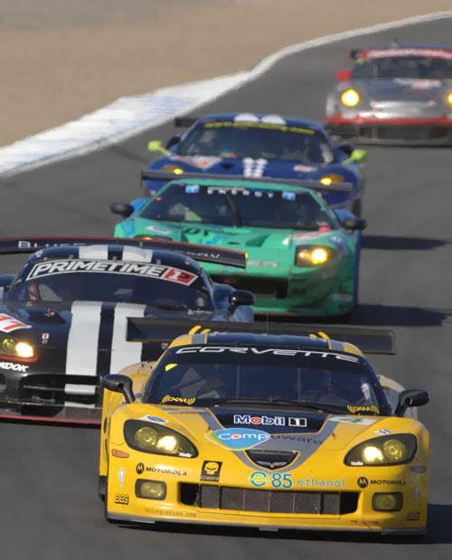GT Laguna Seca, Corvette, Dodge, Ford, Ferrari, Porsche