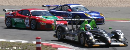 Rollcentre vor Porsche & Ferrari