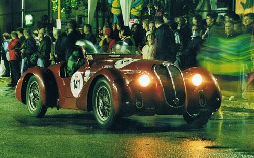 Alfa Romeo 6 C 2500 SS bei der Mille Miglia