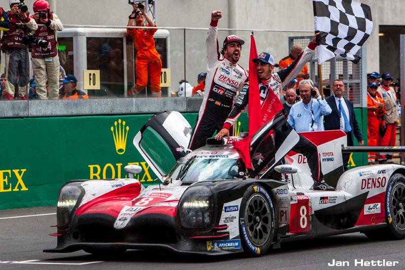 Toyota TS050 - Hybrid erster Le Mans-Sieg