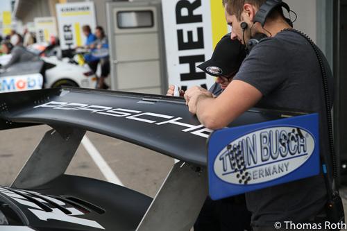 Gurney flap Porsche