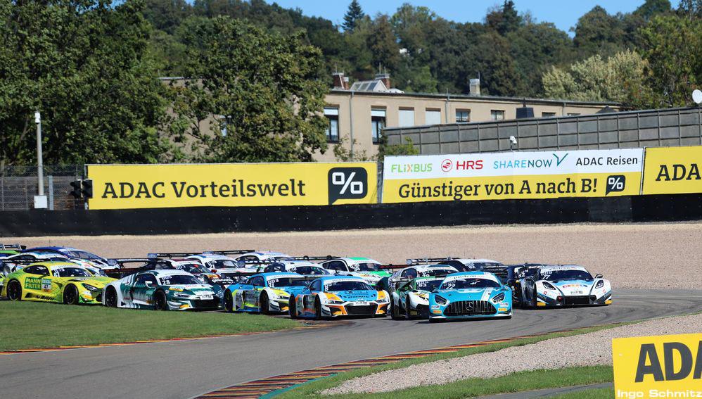 GTM Start Rennen 2 Sachsenring 2020