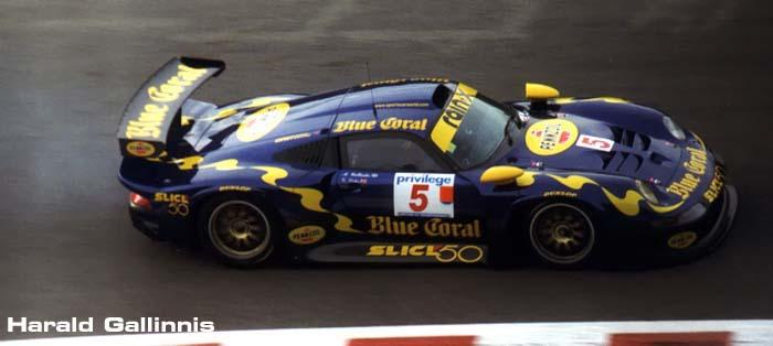 Blue Coral Porsche GT1